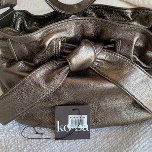 Kooba gold metallic purse small